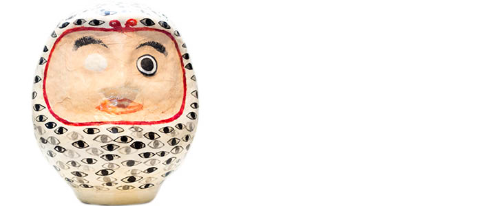 Darumas_HUNDRED EYED DARUMA