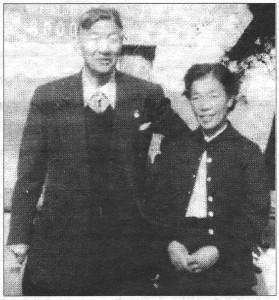 1958年当時の辰夫と順子