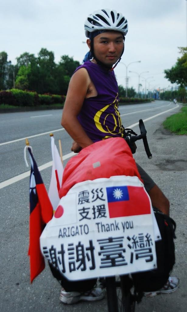 安部良さん 写真: 安部さんのブログ「情熱が人を動かす~30歳からの青春~」より (transcontinentaldiary.blogspot.ca)