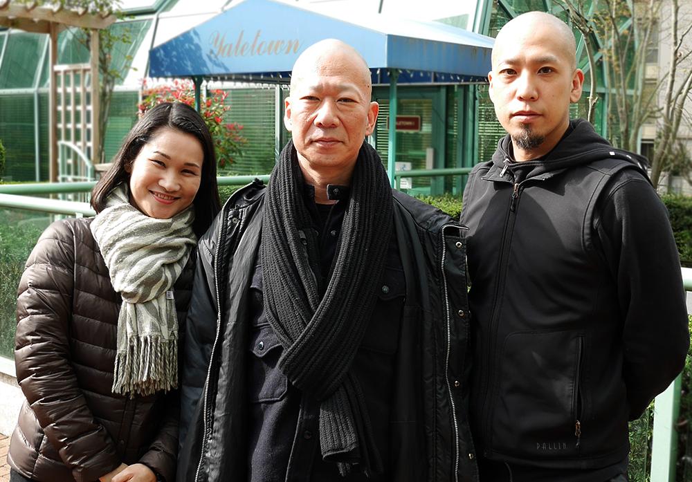 (左から)山本良さん、村松卓矢さん、湯山大一郎さん