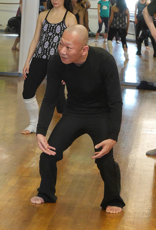 3月16日にHarbour Dance Studioで行われたワークショップの様子