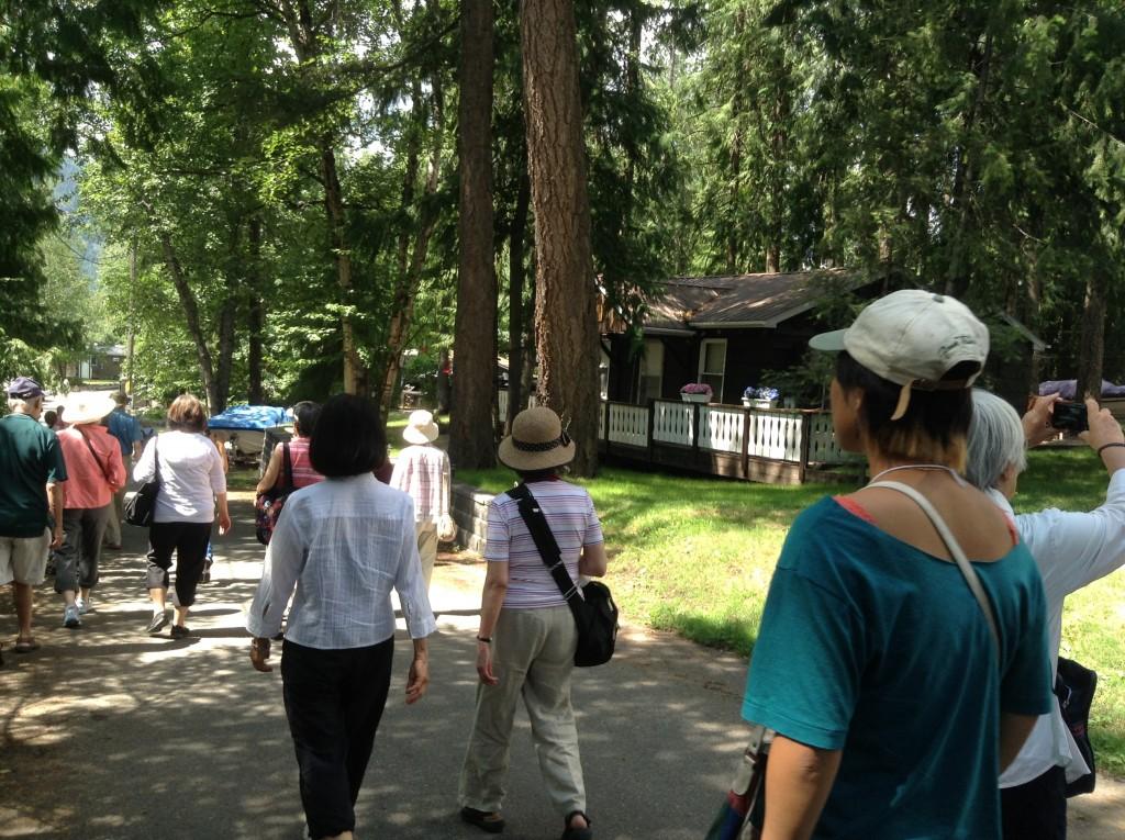 元々リゾート地だったクリスチナ=レイクは、戦後もリゾート地に戻り、今も、日系人収容時代の住居が数件、リゾートハウスとして使われて残っている。