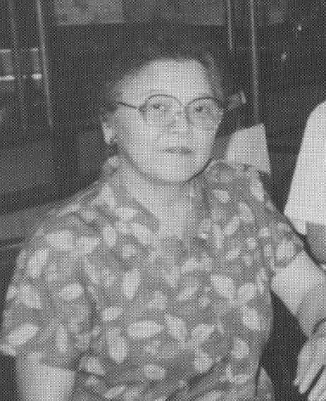 主婦・池部千鶴マージさん(撮影・田中1991年7月)