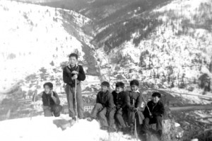 Boys on Mt. Jubilee 1942