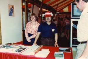 Ann and Dave Sunahara circa 1982