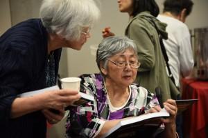 Miyuki Nagata and Lillian Nakashima