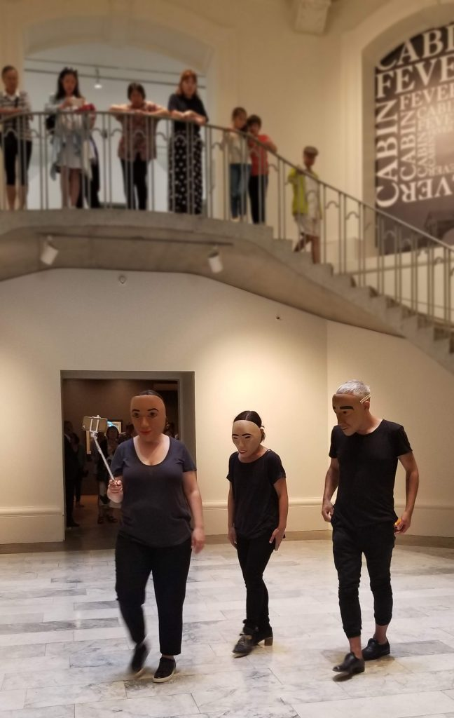 Roving Gallery Performance: <i>this is not us</i>